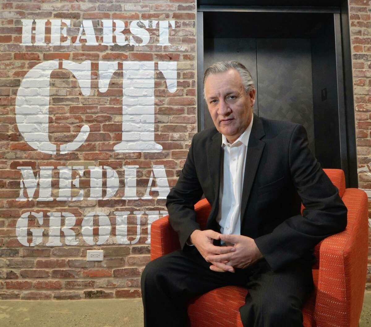 Hearst Connecticut Media sports columnist Jeff Jacobs.