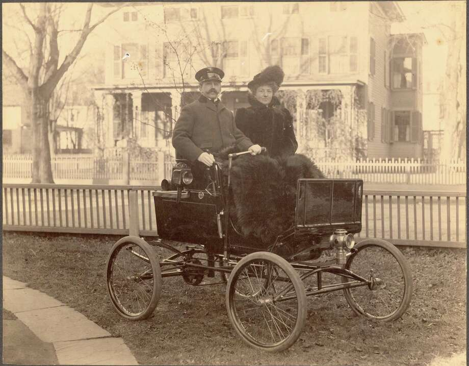 Andrew and Edith Riker c. 1900 Photo: Courtesy Of The Fairfield Museum & History Center