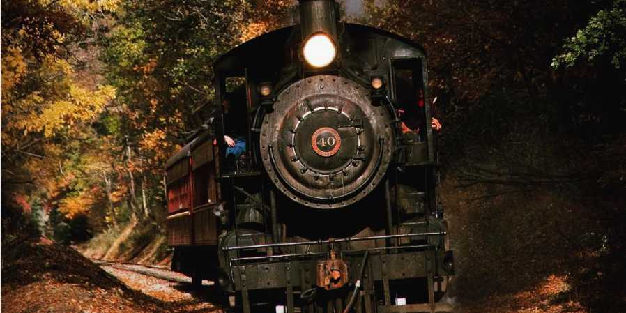This adults-only haunted train ride is guaranteed to scare the bejeebers out of you