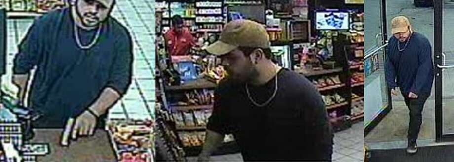Crime Stoppers is seeking information on a man accused of robbing a Circle K at gunpoint. Photo: Crime Stoppers