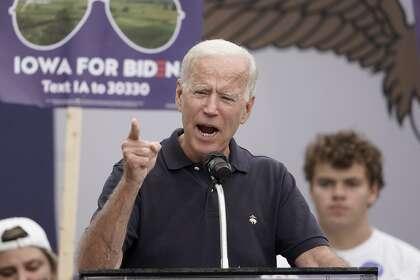 Joe Biden stays out of public eye in Bay Area. Why is that?