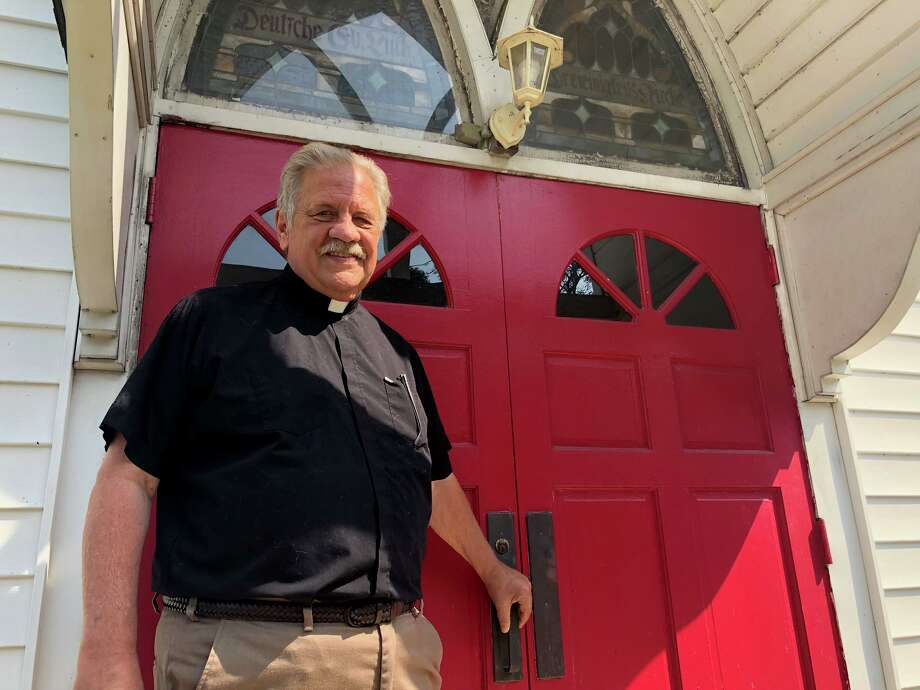 Joe Ekeberg, interim pastor at Trinity Lutheran Church, is hoping to increase youth participation in the Howe Avenue church. Photo: Brian Gioiele / Hearst Connecticut Media / Connecticut Post
