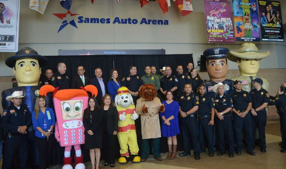Laredo police are inviting the community to National Night Out, an event that brings law enforcement closer to the community. National Night Out is slated for Oct. 1 at the Sames Auto Arena. The event is free and open to the public. Photo: Courtesy