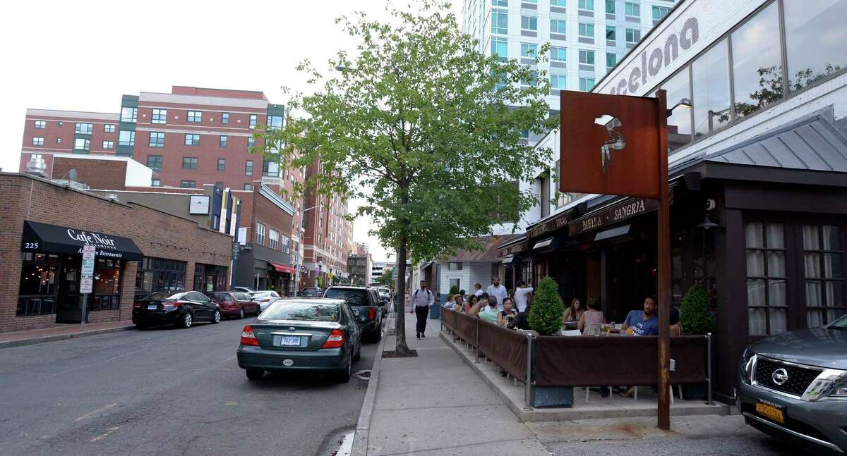 Bartaco and Barcelona Wine Bar & Restaurant have adjacent locations on Summer Street in downtown Stamford, Conn. Greenwich private equity firm L Catterton has acquired for $650 million the parent company of Bartaco and Barcelona Wine Bar.