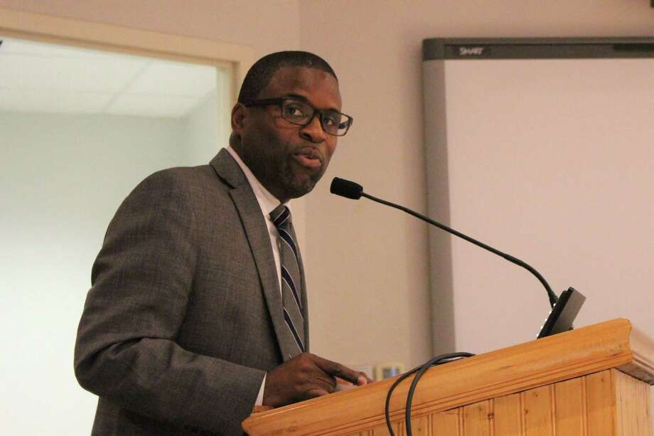 Lamond Daniels was approved as the new chief of community services in Norwalk on Tuesday, Sept. 24, 2019. Photo: Kelly Kultys / Hearst Connecticut Media