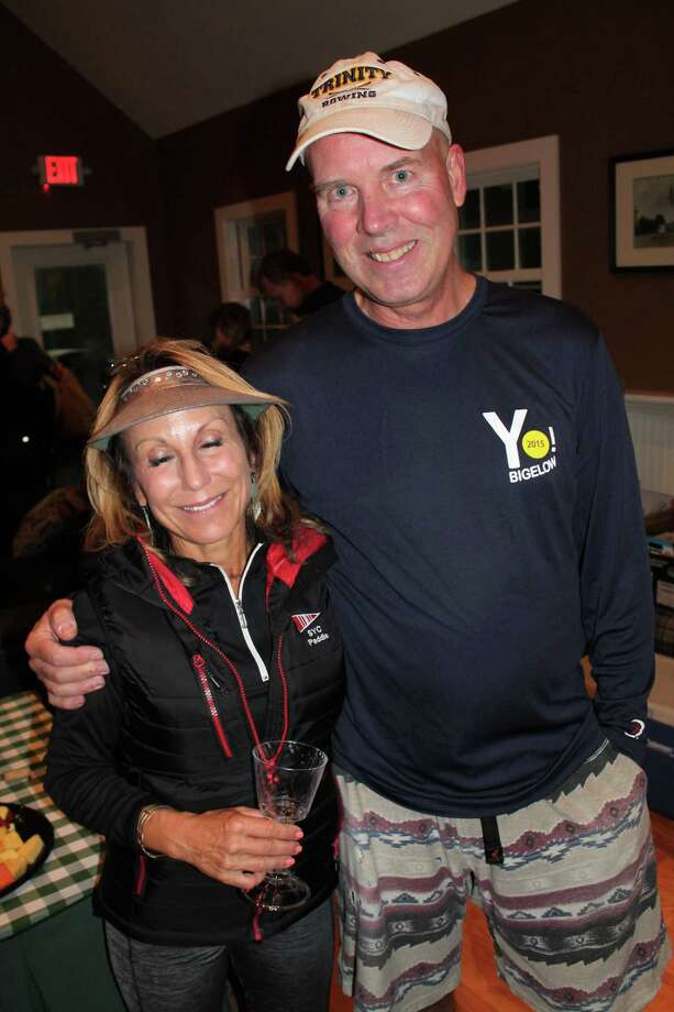 Denise Girordano and Russ Kohl are the most recent Yo Bigelow winners. Photo: Contributed Photo / Yo Bigelow Tournament / Wilton Bulletin Contributed