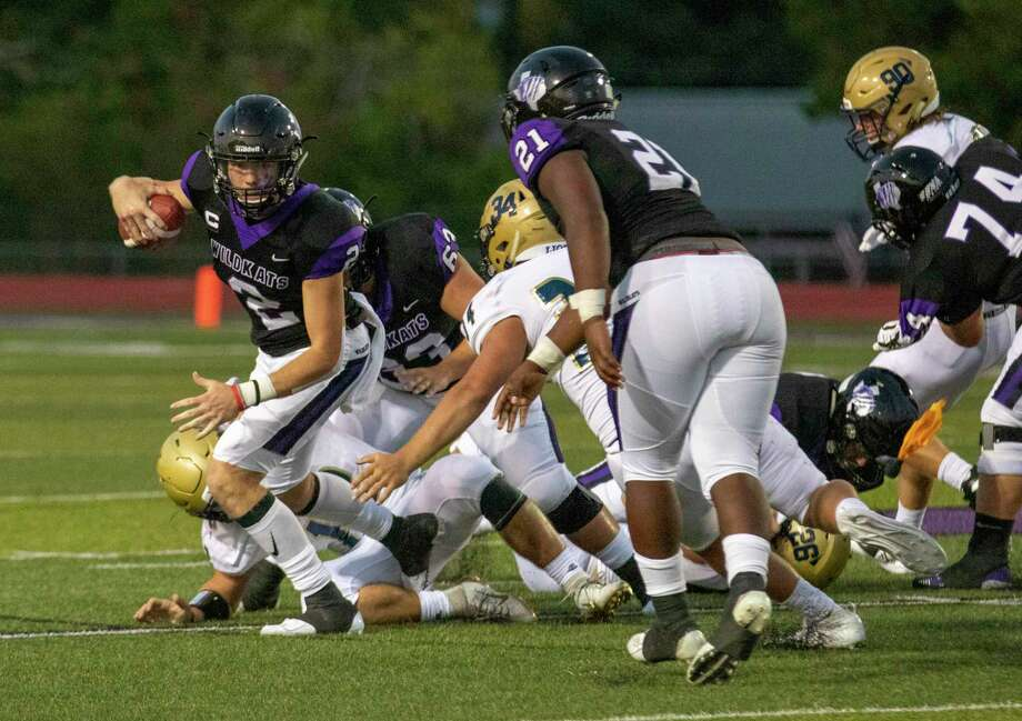 Willis quarterback Steele Bardwell is leading District 8-5A (Div. I) in passing through three games with 665 yards. Photo: Cody Bahn, Houston Chronicle / Staff Photographer / © 2019 Houston Chronicle