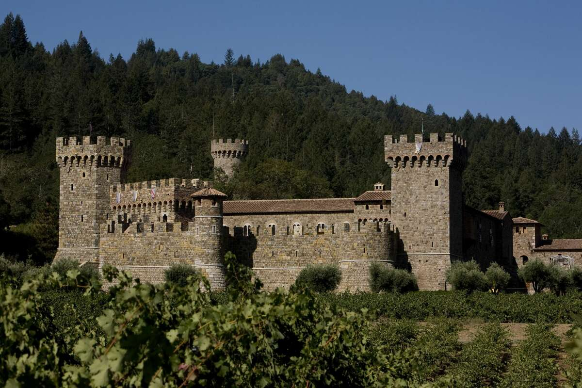 The Castello di Amorosa castle was constructed from centuries old materials. If you're too scared to take the spooky three hour walking tour through its caves, towers and cellars, then we're betting someone can offer you a drink. Maybe even a six-wine tasting flight?