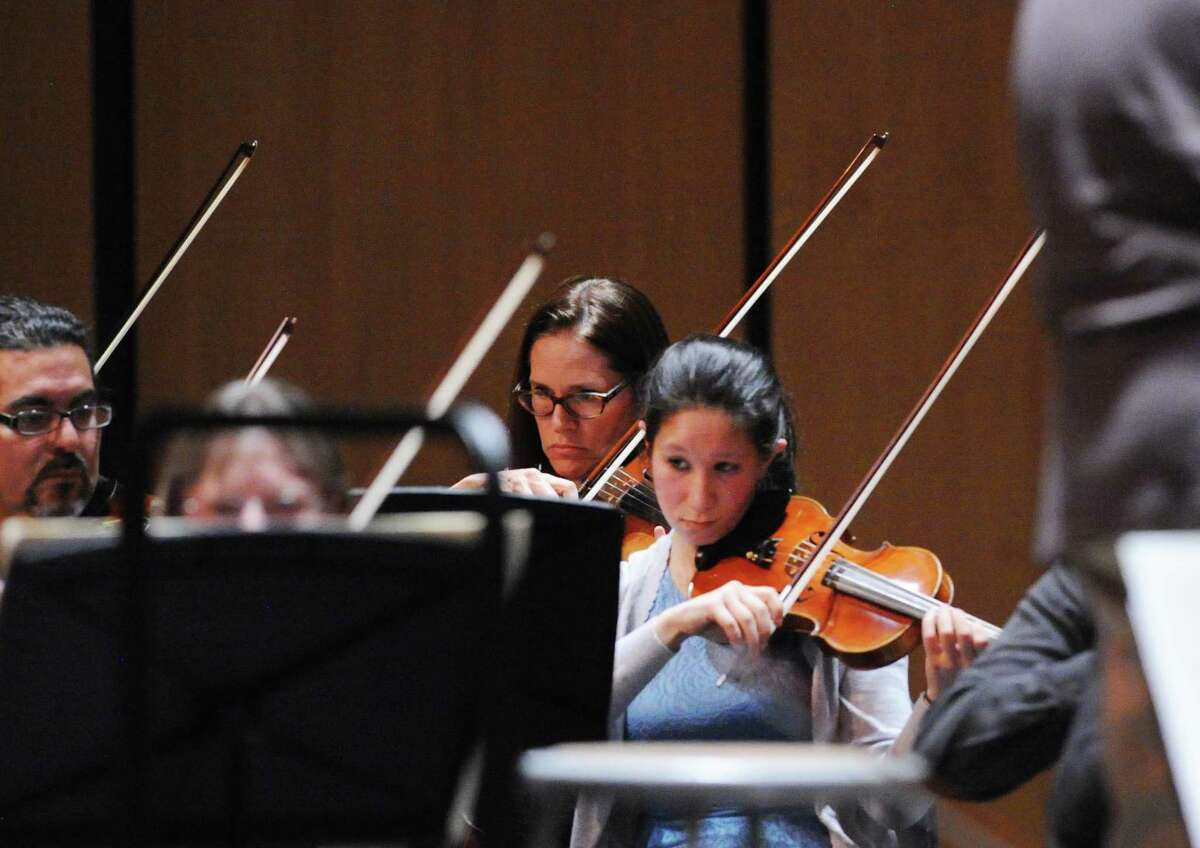 The Greenwich Symphony Orchestra will be in concert at 8 p.m. Saturday and 4 p.m. Sunday at the Greenwich High School Performing Arts Center, 10 Hillside Road. Tickets are $40 per person, $10 for students. For more information, call 203-869-2664 or visit www.greenwichsymphony.org.