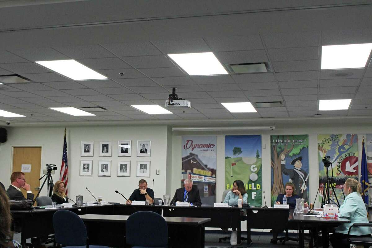 The Board of Education discussed test results from Stratfield, Ludlowe and McKinley schools.