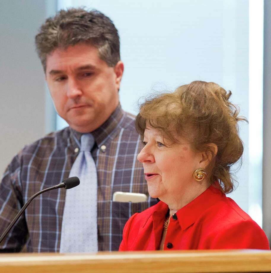359th state District Court Judge Kathleen Hamilton and 418th state District Court Judge Tracy Gilbert, seen in this file photo, spoke to Montgomery County Commissioners Tuesday about changing the budget process for the county's trial courts to avoid shortfalls. Photo: Jason Fochtman, Houston Chronicle / Staff Photographer / © 2019 Houston Chronicle