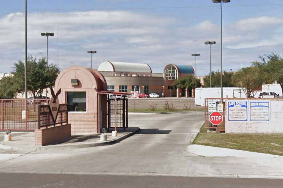 An athletic trainer from Zapata High School has resigned after allegations of inappropriate conduct emerged, according to district officials. Photo: Google Maps/Street View