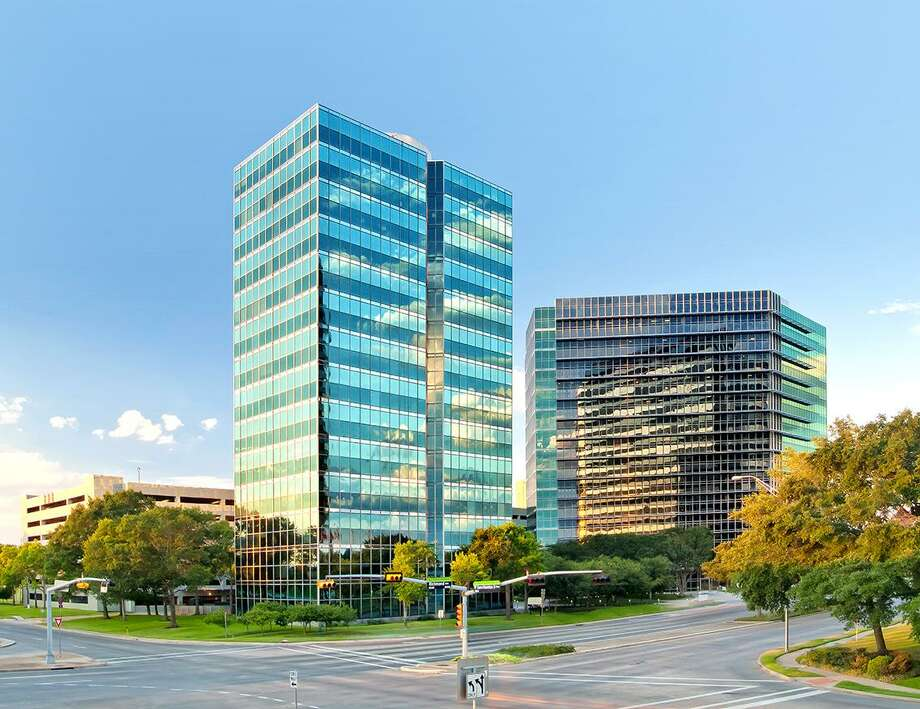Cognizant Technology Solutions has leased space in Towers at Westchase II, pictured on the right. The building at 10350 Richmond is owned by Franklin Street Properties. Photo: Stream Realty Partners / Stream Realty Partners
