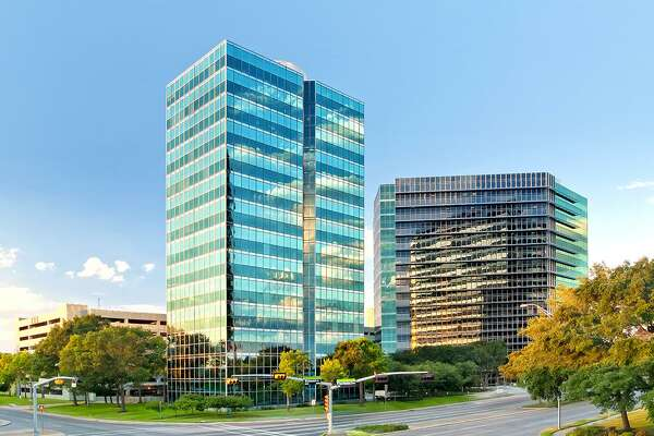 Cognizant Technology Solutions has leased space in Towers at Westchase II, pictured on the right. The building at 10350 Richmond is owned by Franklin Street Properties.
