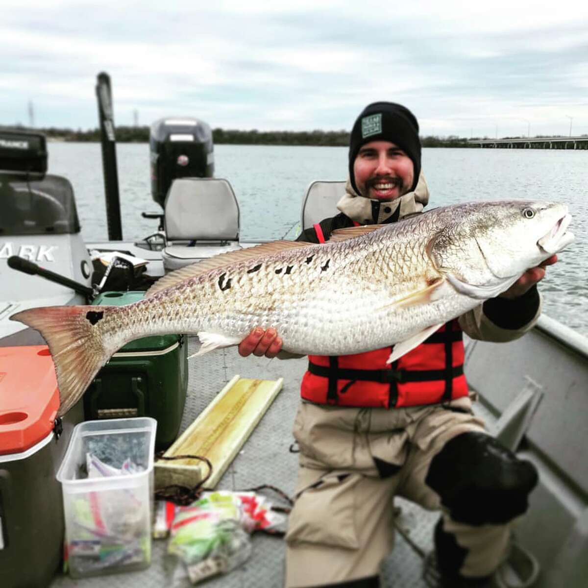 Texas Parks and Wildlife recently poured nearly 600,000 red drum fish into Braunig and Calavaras lakes to help keep the population high.