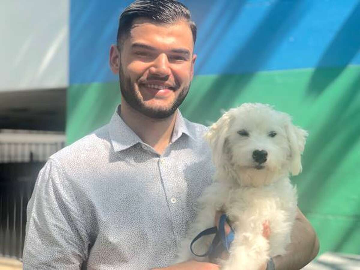 Astros' pticher Lance McCullers Jr. takes mound for pets in need at Harris County Animal Shelter.