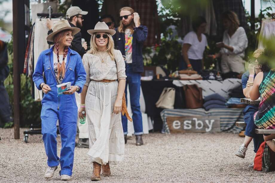 Scenes from the 2018 Trans Pecos Festival in Marfa. Photo: Courtesy Of El Cosmico