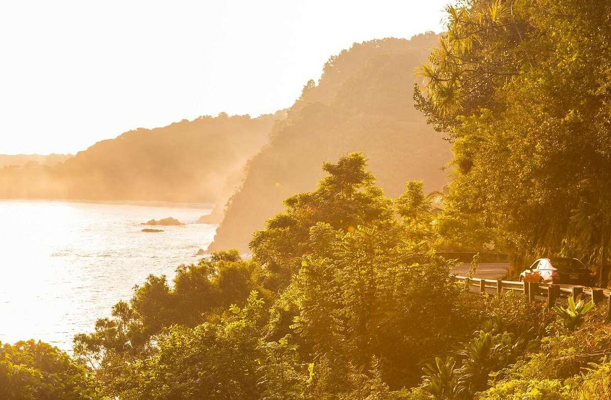 Morning road to Hana