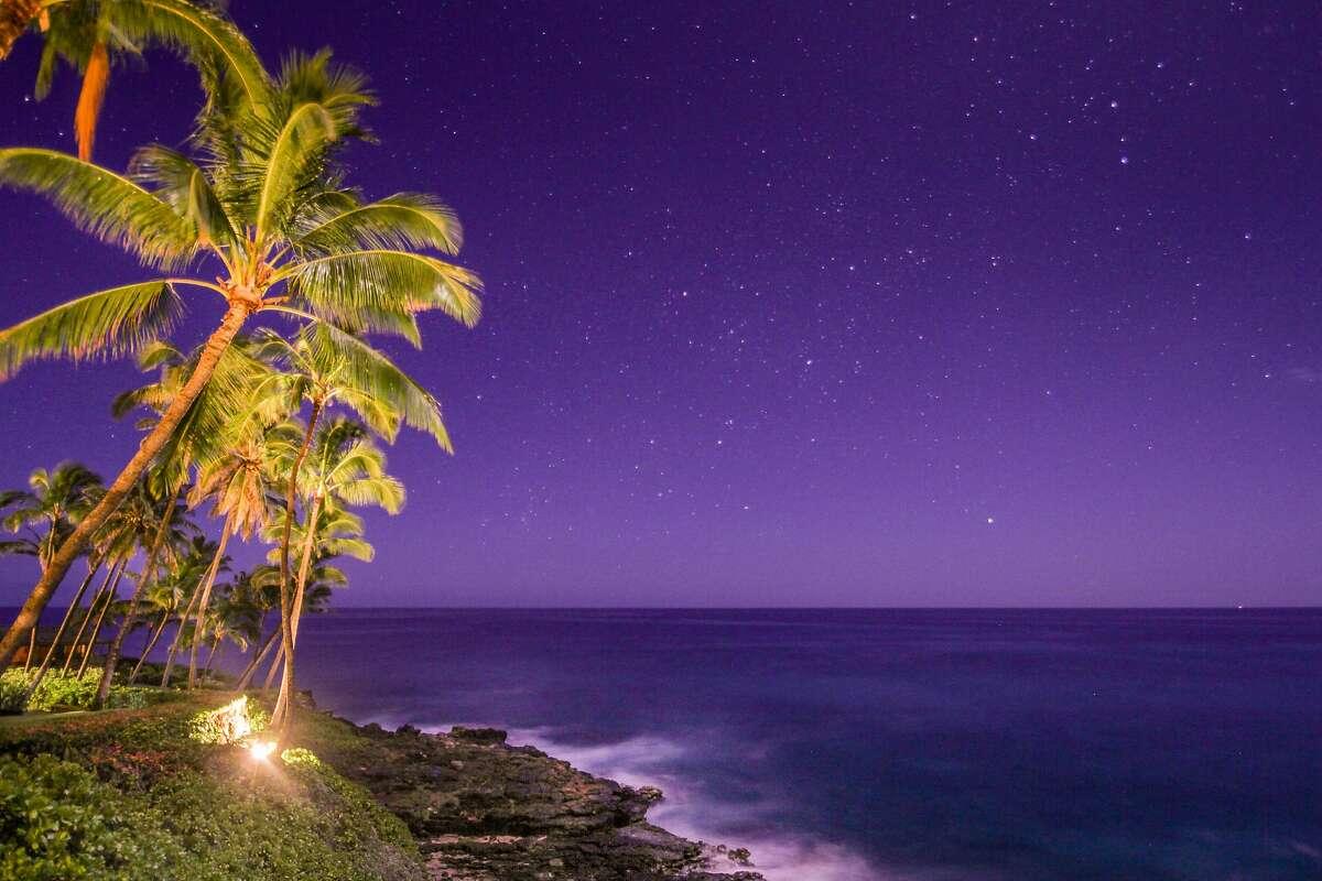 Kauai at night