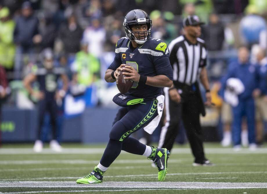 Russell Wilson Photo: Stephen Brashear/Getty Images