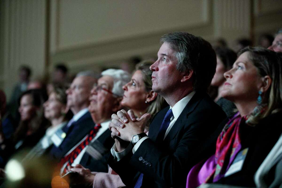 Supreme Court Justice Brett Kavanaugh attends an event celebrating Sandra Day O'Connor, the first woman to be a Supreme Court Justice, Wednesday Sept. 25, 2019, at the Library of Congress in Washington.