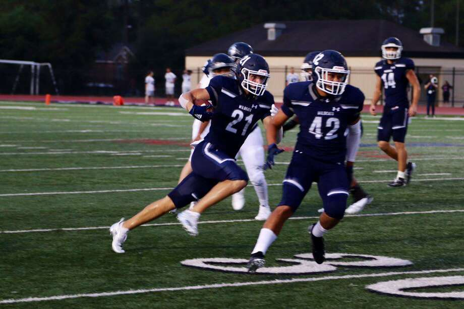 The Tomball Memorial Wildcats entered a bye-week and defeated Bryan 40-0 in District 14-6A, Sept. 20, at Tomball ISD Stadium. Photo: Tomball ISD