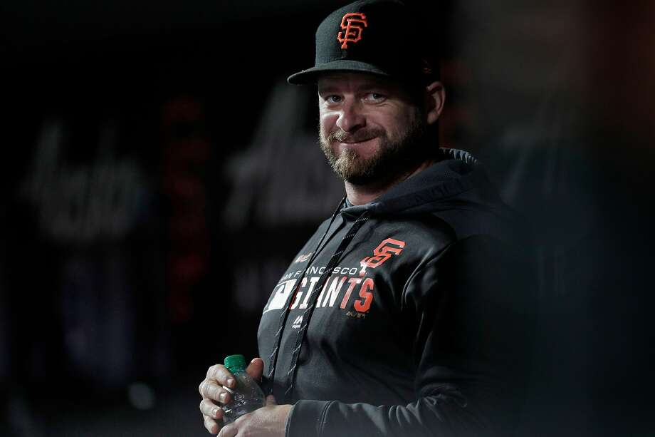 After a year recovering from injury, Stephen Vogt spent 2019 with the Giants. He re-established his value as a backup catcher and corner utility man and signed with Arizona in the offseason. Photo: Carlos Avila Gonzalez / The Chronicle