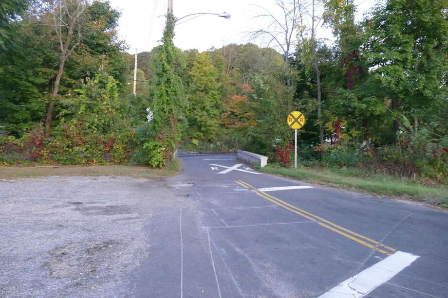 Depot Road Bridge — the more northerly of two bridges in and out of the Branchville train station — will be closed permanently soon. Depot Road Bridge — the more northerly of two bridges in and out of the Branchville train station — will be closed permanently soon. It was still open as of Wednesday, Sept. 25, at 7 p.m. Photo: Stephen Coulter / Hearst Connecticut Media