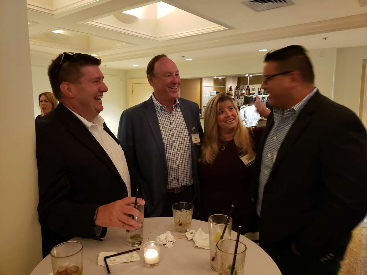 At the Hearst Connecticut Media 2019 Top Workplaces awards Wednesday night at the Waterview in Monroe, employees of Splash Car Wash celebrated a 2nd place overall win for midsize employees and their CEO, Mark Curtis (not pictured) won the Top Leader award.
