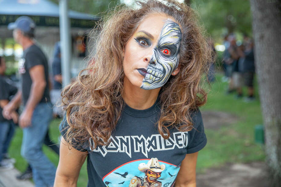 Fans at the San Antonio Iron Maiden concert at the AT&T Center Wednesday, Sept. 25, 2019. Photo: Photos By Joel Pena For MySA.com