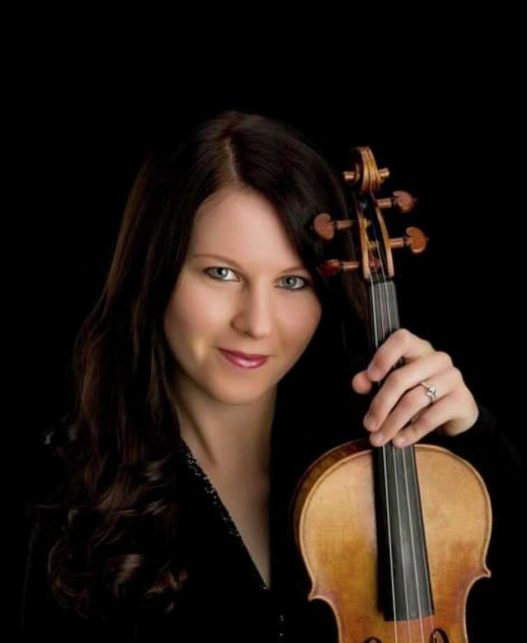 Violinist Maria Bessmeltseva (Photo provided/Grove Music Festival)