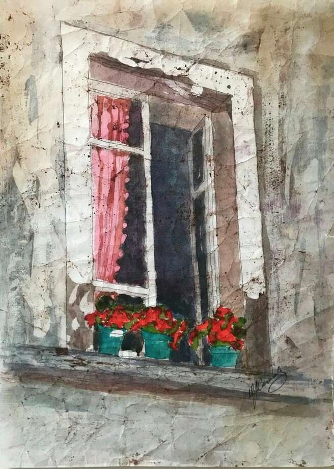 Window Sill Geraniums by DJ Carmody(Photo provided/SAWA)