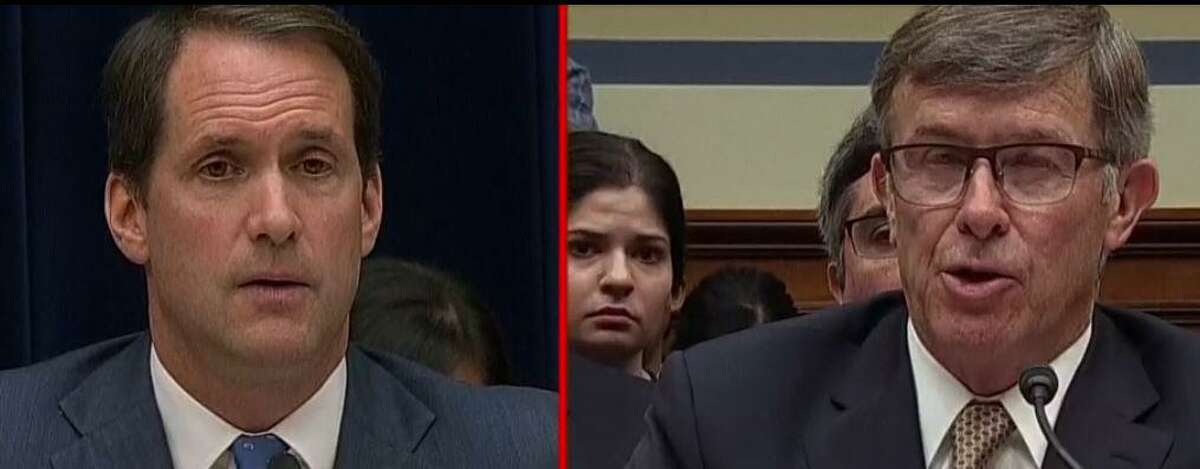 U.S. Rep. Jim Himes' questions on Thursday, Sept. 26, 2019 were part of a broad Democratic effort to uncover how Acting Director of National Intelligence Joseph Maguire may have collaborated with the White House and Department of Justice to stall or prevent scrutiny of the Trump's conversations with the president of Ukraine.