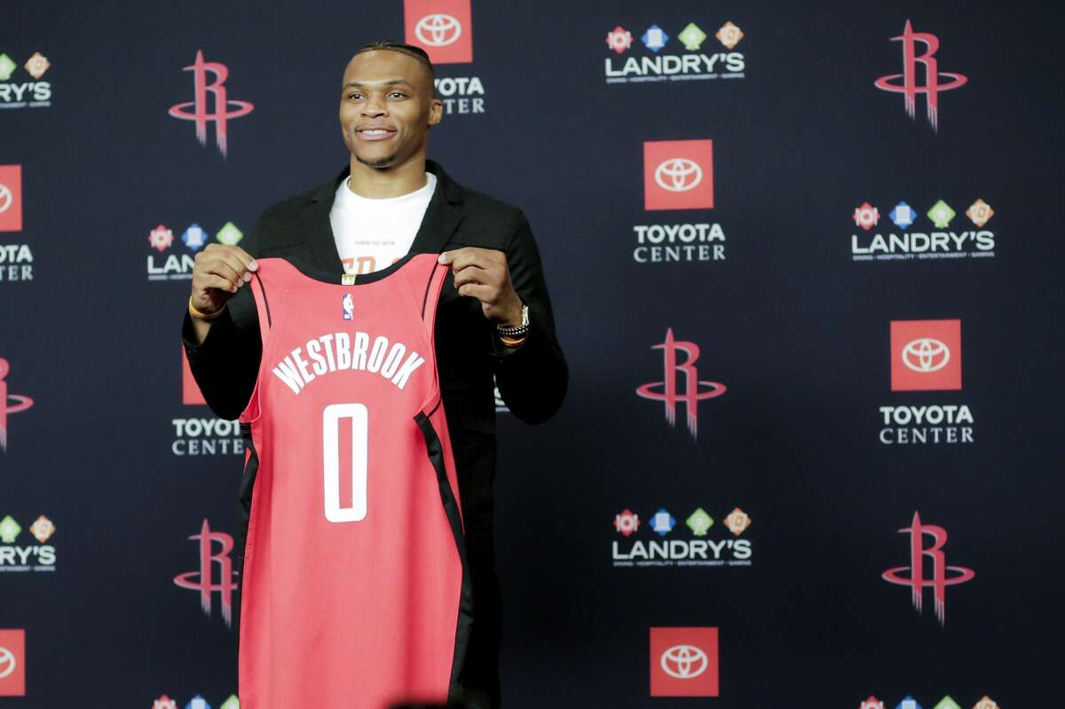 The Rockets' acquisition of former MVP Russell Westbrook was among the high-profile moves of a league-altering offseason across the NBA.