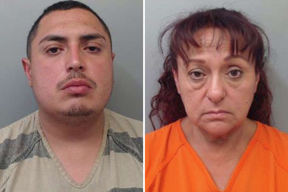 Two people were paid to pave a parking lot but never finished the work, according to Laredo police.