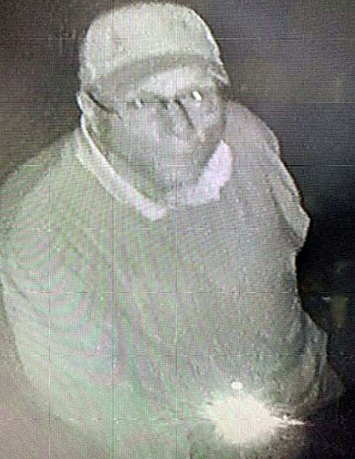 State Police are looking for a man who tried to steal boxes of meat from a Connecticut banquet hall. At around 10:30 p.m. Tuesday, Sept. 24, 2019 police responded to an active alarm at Aria Banquet Hall, at 45 Murphy Road in Prospect. Photo: State Police Photo