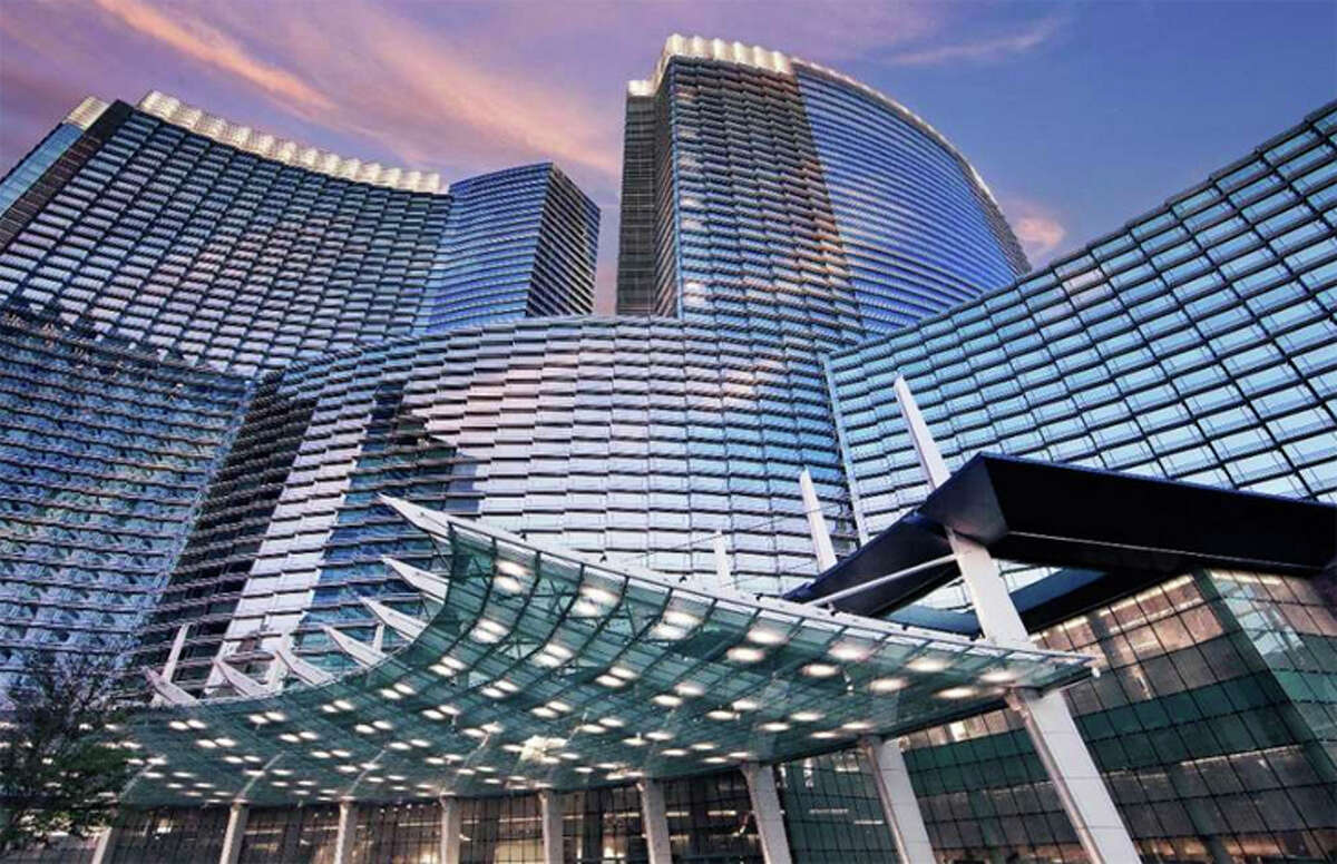 Resortfeechecker.com cites a nightly resort fee of $44.22 at the ARIA in Las Vegas
