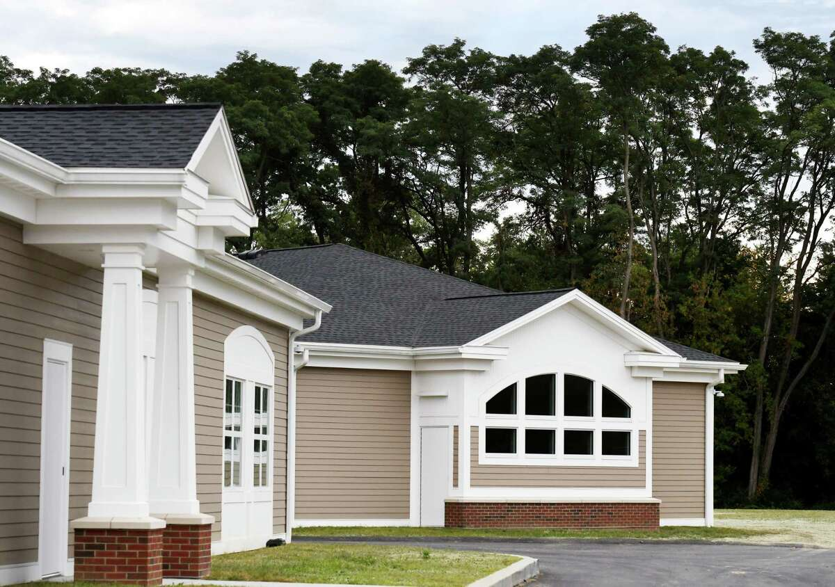 Exterior of the new $10 million Behavioral Health Care Center at Northern Rivers Family of Services on Thursday, Sept. 26, 2019, in Albany, N.Y. (Will Waldron/Times Union)