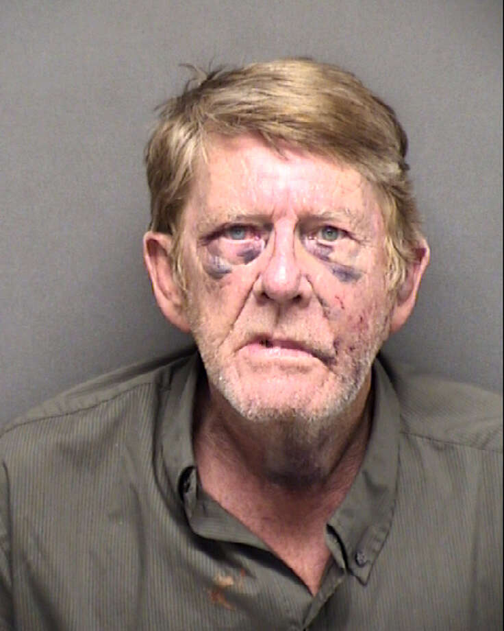 Gerald Allen Young, 66, was arrested Wednesday evening and is facing a murder charge despite claiming he was using self-defense when he allegedly stabbed his 55-year-old roommate on the Northwest Side on Tuesday. Photo: Bexar County Jail