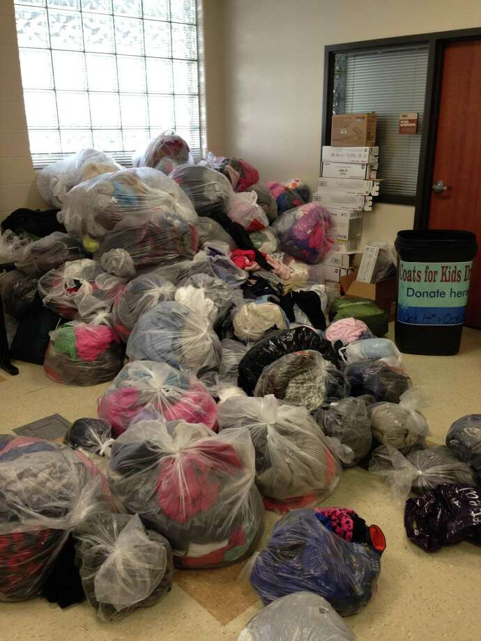 This will be CISD's 17th year collecting coats for students in need. When the event started the district only gathered a few hundred coats. Last year CISD was given 1,600 coats. Photo: Provided