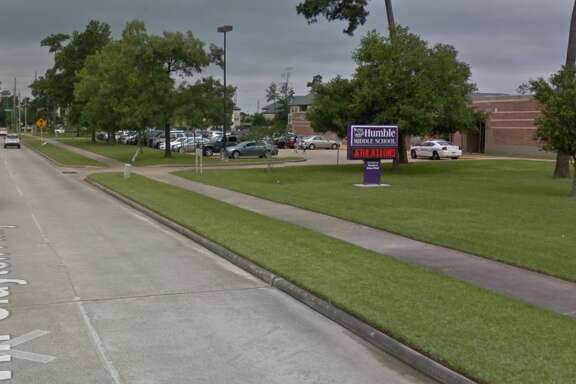 A student was hit at the corner of Will Clayton Parkway and Woodland Hills Drive around 7:20 a.m. Thursday, according to Humble ISD.
