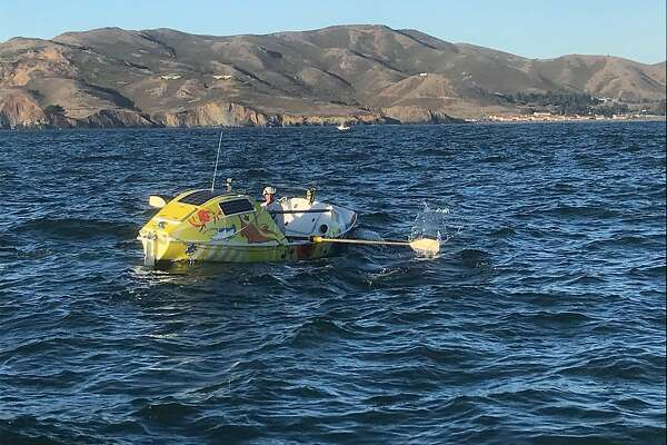 60-foot waves and 22 days: Rower survives solo journey from Washington to SF Bay