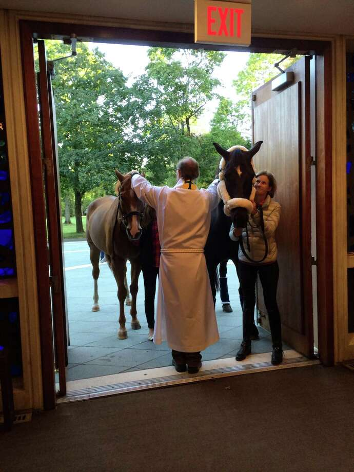St. Mark's Episcopal Church, New Canaan hosts their annual Blessing of the Animals on Sunday, Oct. 6, at 5 p.m. Photo: Contributed Photo.