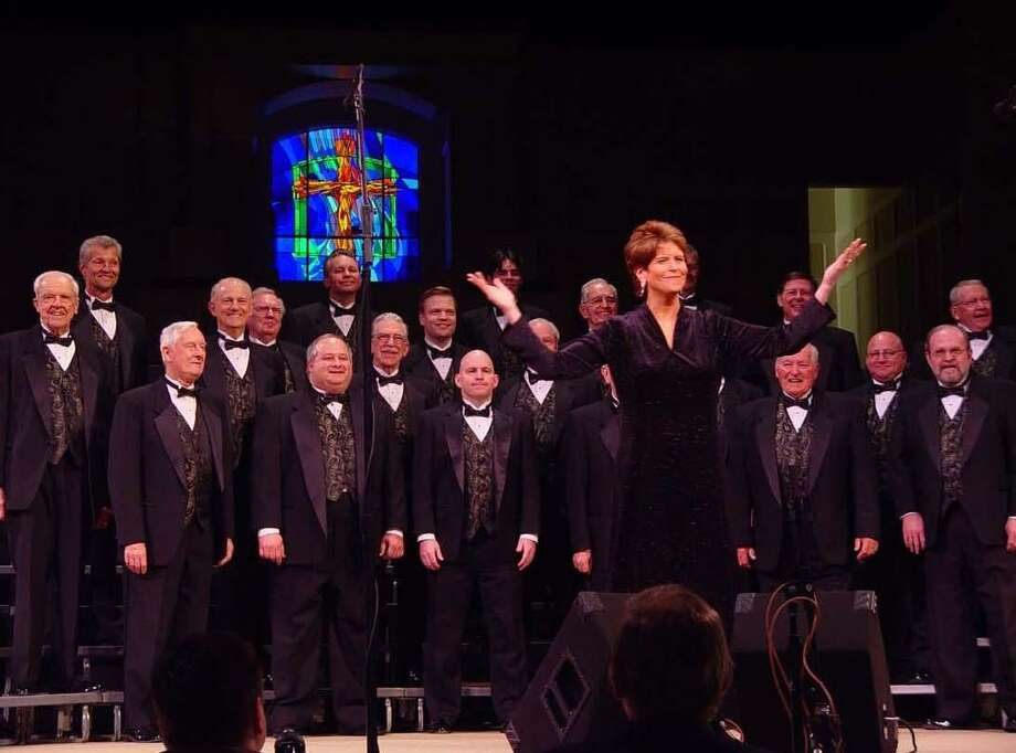 The Statesmen Chorus, in a cappella harmony, grabs attention with its Good Times Show this Saturday, Oct. 5, in Hosanna Lutheran Church, 16526 Ella Blvd., Houston 77090. The huge assemblage of male singers of all ages from around the Gulf Coast will begin the four-part harmony in old-time barbershop style at 4 p.m. But attendees will want to arrive early for tamales, nachos, and non-alcoholic beverages, all included in the admission price of $20 for adults; $10 for children under age 12. / Internal