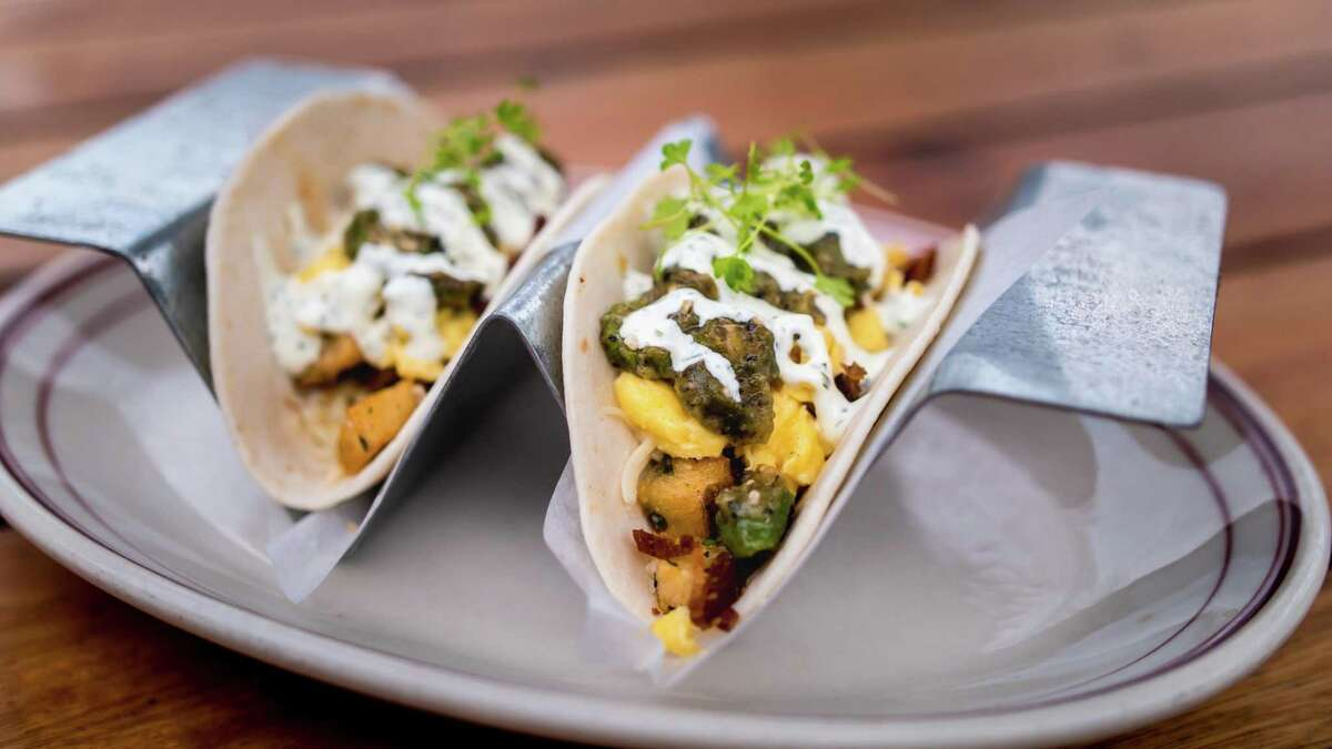 The breakfast tacos at Ida Claire.