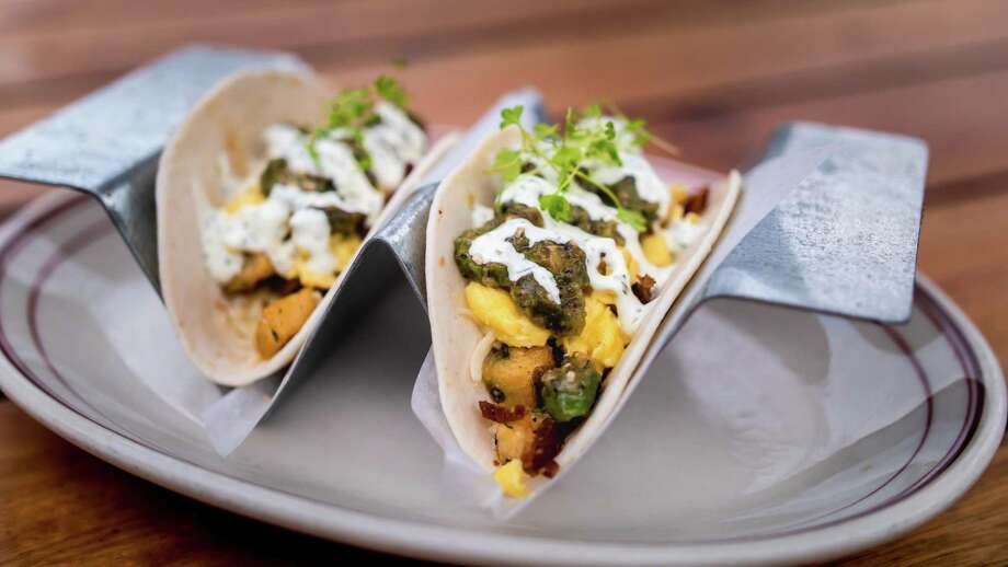 The breakfast tacos at Ida Claire. Photo: Ida Claire