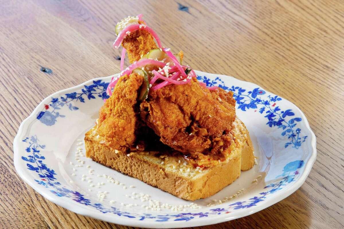 The Nashville Hot Chicken at Ida Claire.