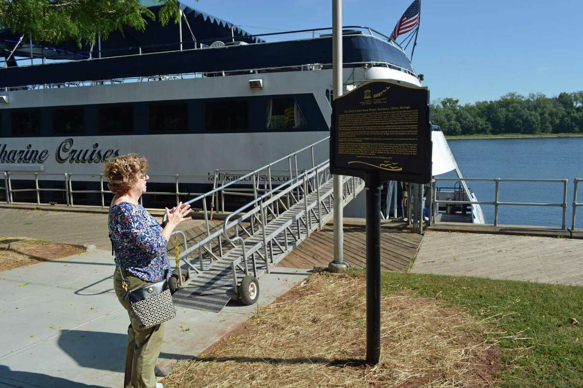 Middletown municipal historian Debbie Shapiro spearheaded the project to get the city recognized by the United Nations Economic, Scientific, and Cultural Organization as a Site of Memory as part of the international project,