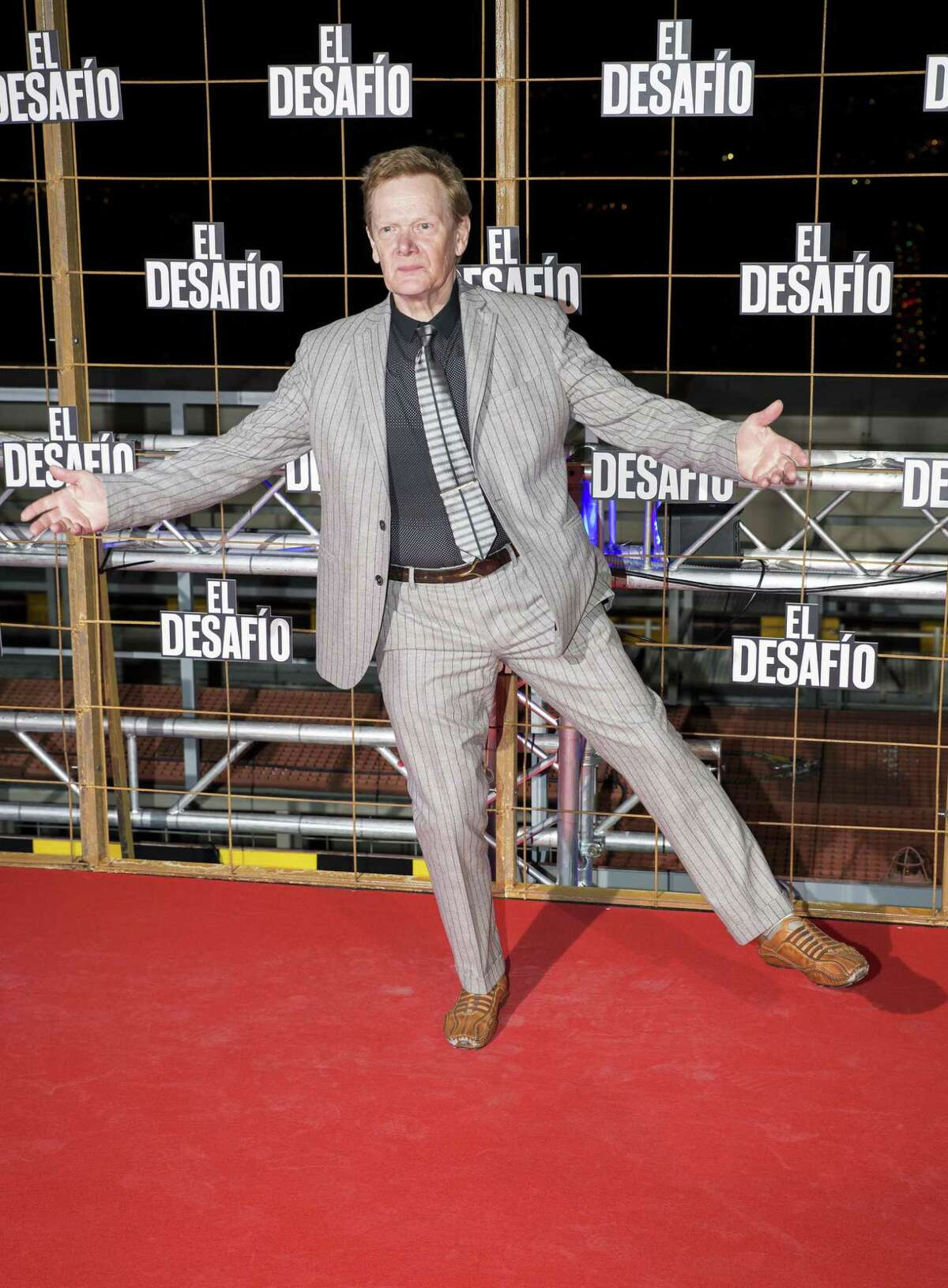MADRID, SPAIN - DECEMBER 10: Philippe Petit attends 'El Desafio' premiere on December 10, 2015 in Madrid, Spain. (Photo by Europa Press/Europa Press via Getty Images)