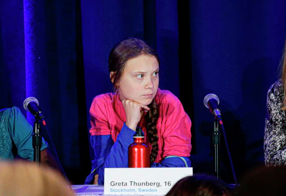 Activist Greta Thunberg spoke passionately at the United Nations climate summit about the climate crisis her generation will live with. But it didn't connect with everyone. A reader likened her speech to a childish outburst. Photo: KENA BETANCUR /AFP /Getty Images / AFP or licensors